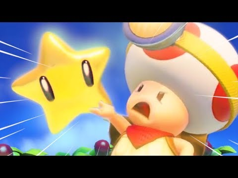 Captain Toad but some funny stuff happens