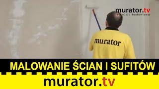 Malowanie ścian i sufitów nie jest trudne. Zrób to samodzielnie - DOMOWE SOS