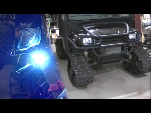 "2003 Polaris Ranger 6x6 Prospector Tracks Install ""Bracket Fabrication"""