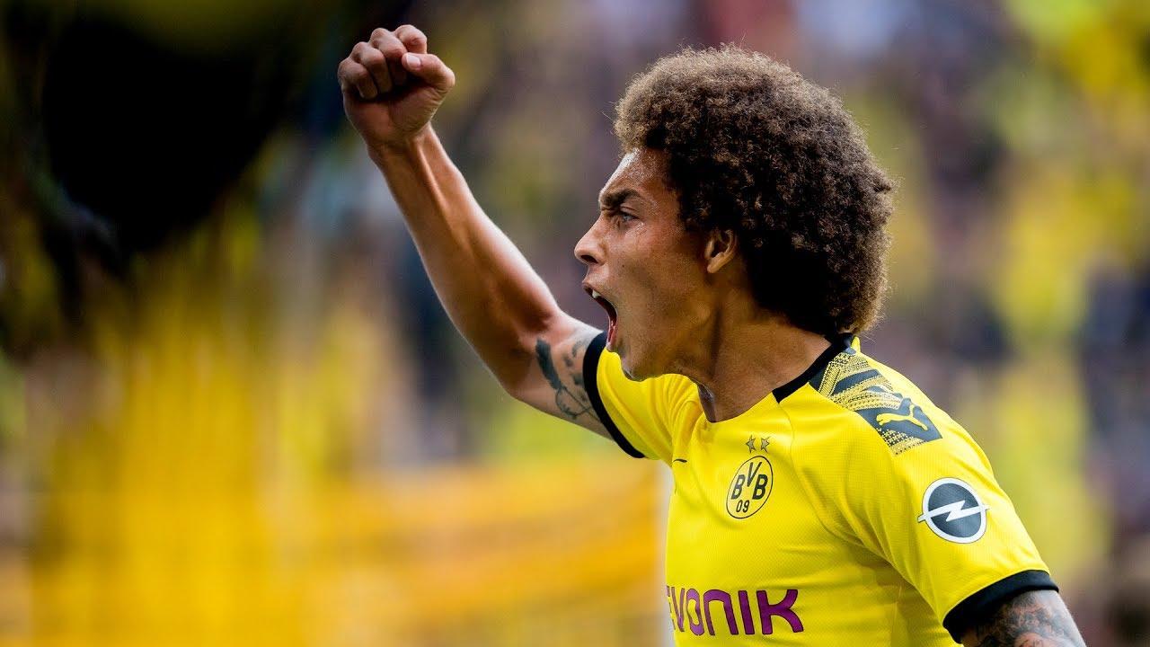 """Die Fans pushen uns immer!"" | Rückblick mit Axel Witsel | BVB - FC Augsburg 5:1"