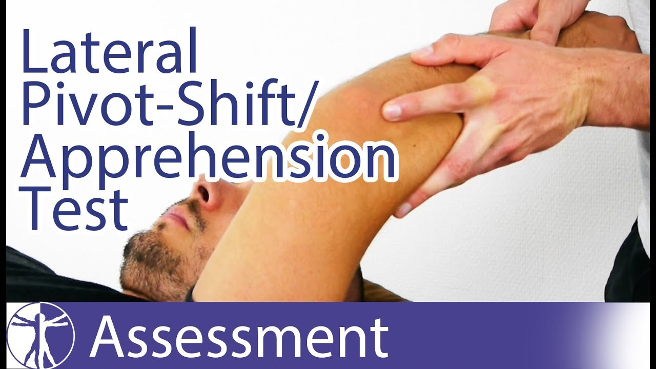 The Lateral Pivot-Shift / Apprehension Test | Posterolateral Rotatory  Instability of the Elbow