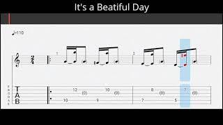 Tab Gitar It's a Beautiful Day - Tohpati