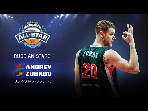 Andrey Zubkov All Star Game Profile