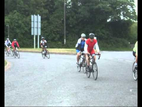 Dragon Bike Ride Passes through Llantwit Major Vale of Glamorgan
