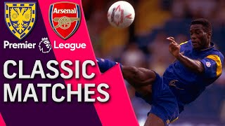 Robbie earle and lee dixon look back at their head-to-head battle in 1992, when wimbledon edged arsenal 3-2 selhurst park. #nbcsports #premierleague #wimb...