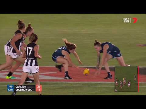 AFLW Highlights  - Carlton v Collingwood