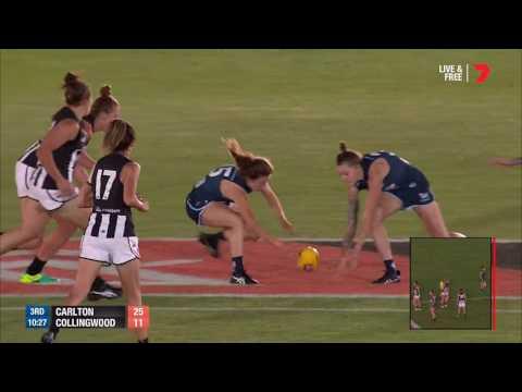 AFLW Highlights  - Carlton v Collingwood
