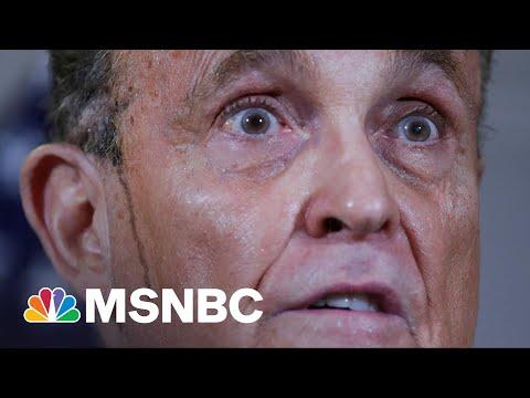 Trump, Giuliani Lies Are Basis Of New Georgia Voting Law, Republican Lt. Gov. Admits | Rachel Maddow