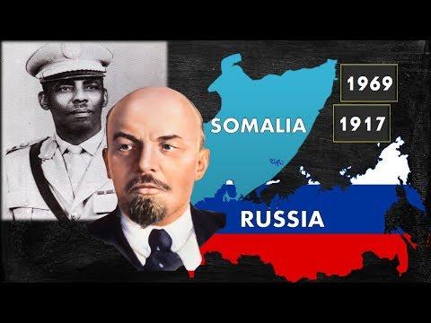 Somaliya iyo ruushka | 1917 - 1969 | dhacdooyin isu eg |