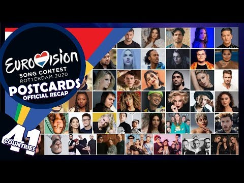 OFFICIAL RECAP: 41 Postcards Of All Eurovision 2020 Countries! 🌍