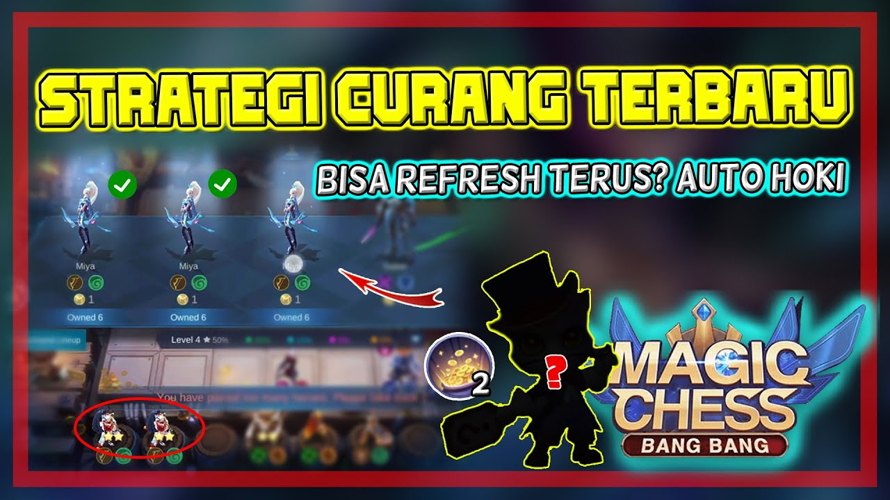 Combo & Strategi Rahasia Baru - Fix Cheat! Combo Terkuat Magic Chess - Mobile Legends Bang Bang
