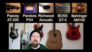 Acoustic v Acoustic Simulation v Acoustic Modelling