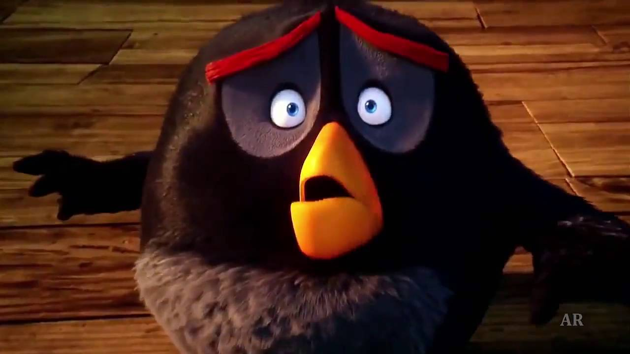 the angry birds bomb blows up the ram scene youtube. Black Bedroom Furniture Sets. Home Design Ideas