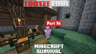 MInecraft Survival 76 - A Horse and some decorative work