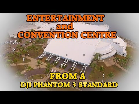 Entertainment /Convention Centre, Townsville, Australia; Drone. Music Concerts, Basket & Bull Riding
