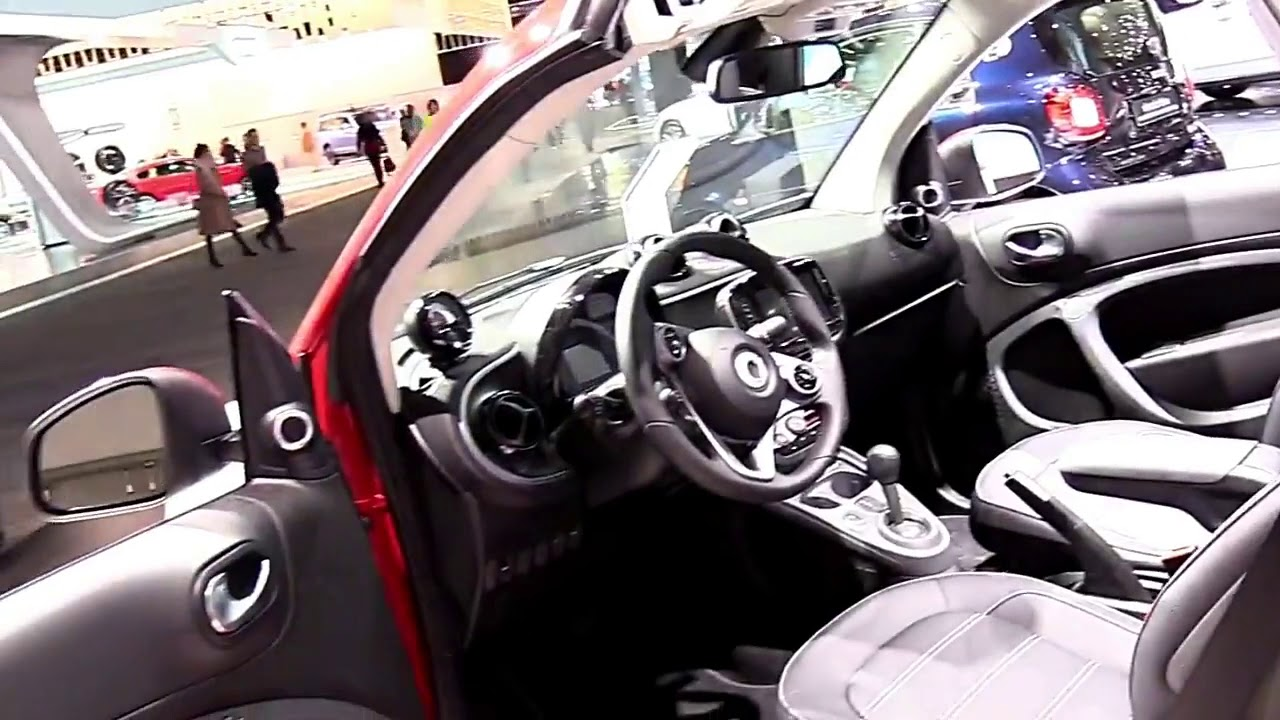 2018 smart fortwo electric fullsys features new design exterior interior first impression. Black Bedroom Furniture Sets. Home Design Ideas
