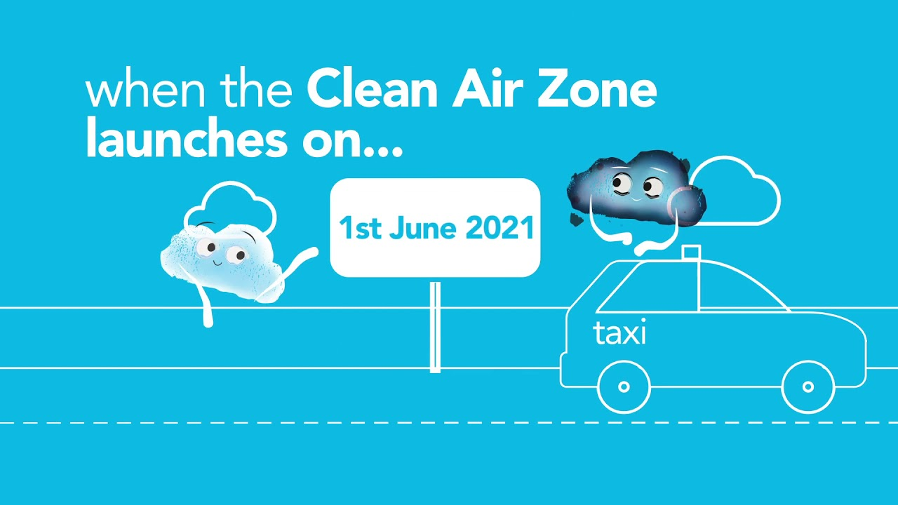 Birmingham Clean Air Zone; financial support for taxi drivers (hackney carriage and private hire)