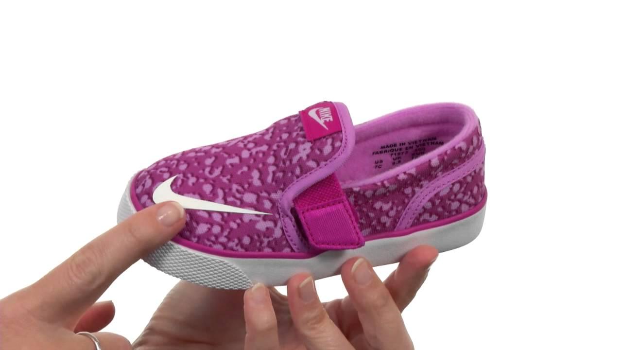best service 73d77 febe3 Nike SB Kids Toki Slip-on Canvas Print (Infant Toddler) SKU 8511435