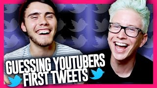 Guessing YouTubers' First Tweets (ft. Alfie Deyes) | Tyler Oakley