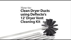 Dryer Cleaning Vent Kit