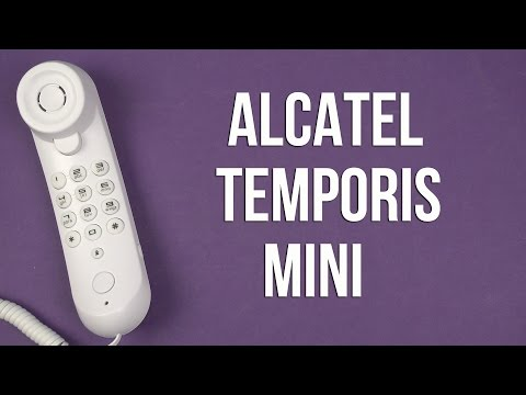 Распаковка Alcatel Temporis Mini White
