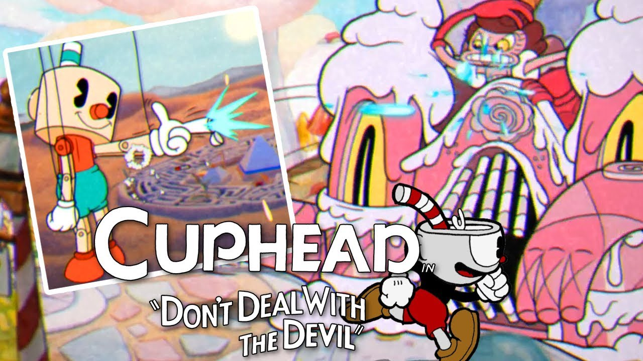 how to play cuphead split screen