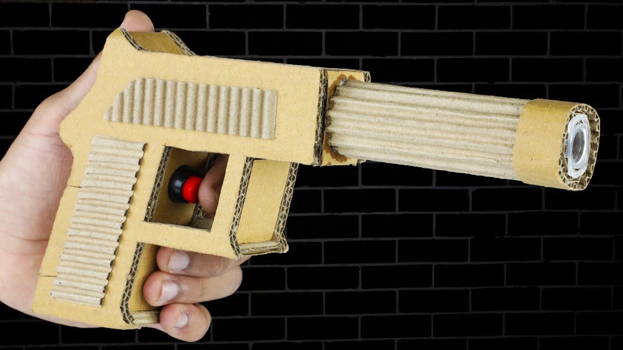 Pubg Create: How To Make PUBG Pistol Using Cardboard