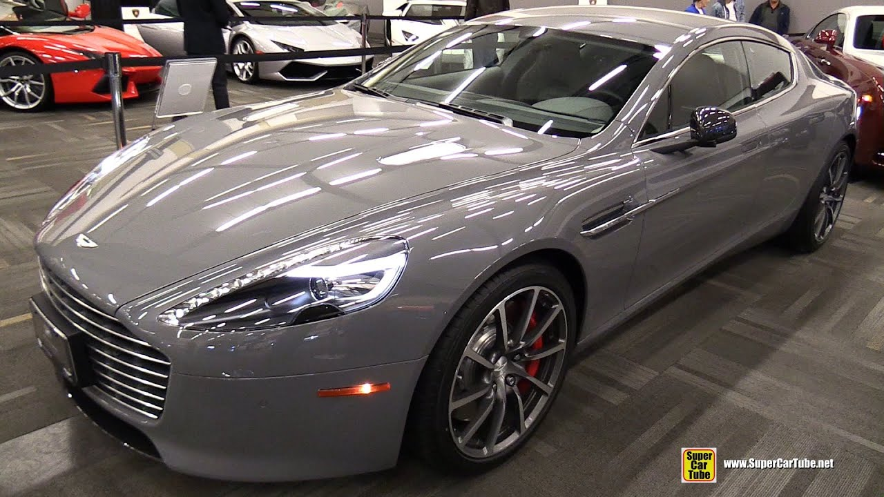 2015 aston martin rapide s - exterior and interior walkaround