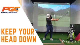 Keep Your Head Down in the Golf Swing? - Debunking Golf Myths