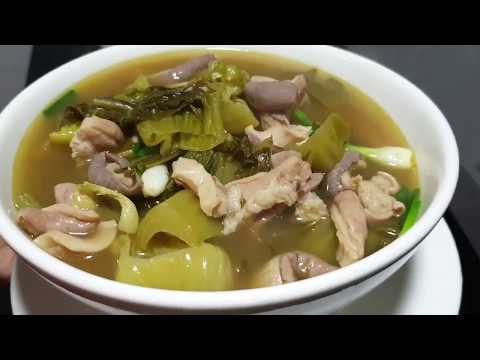 Pig Stomach Soup With Pickled Cabbage - Yummy Recipe At Home - Asian Food