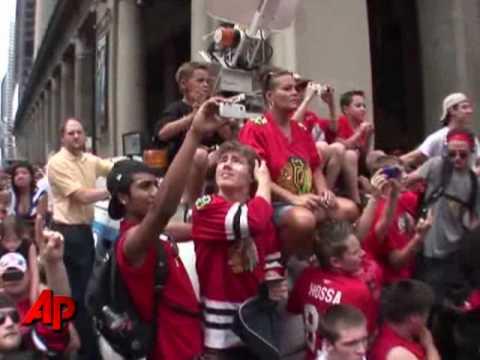Chicago Celebrates Blackhawks' Stanley Cup Win