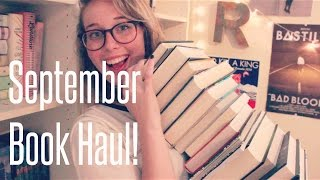 BIG September Book Haul! Thumbnail