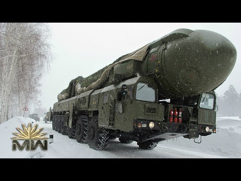 Intercontinental Ballistic Missile Topol-M - Russian RT-2PM2