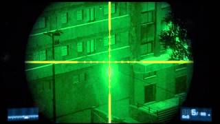 Battlefield 3: Night Shift - Clear LZ Shoot 4 Lights Story Campaign HD Gameplay Playstation 3