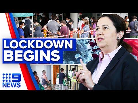 Coronavirus: Greater Brisbane under lockdown after UK strain found   9 News Australia