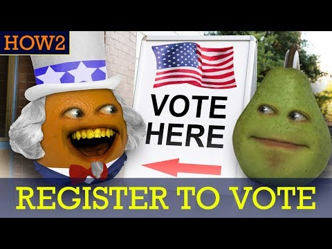 HOW2: How To Register To Vote!