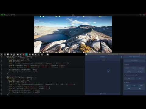 Fragment - Granular/Additive soundscapes & pixels-based delay