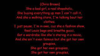 Video Rihanna ft. Chris Brown-Bad Girl with lyrics download MP3, 3GP, MP4, WEBM, AVI, FLV Agustus 2018
