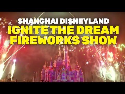 "NEW ""Ignite the Dream"" fireworks show at Shanghai Disneyland"
