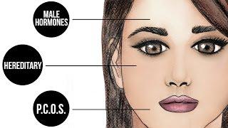 Facial hair Multidirectional