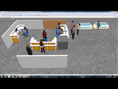 Health care Clinic Simulation Arena 3-D