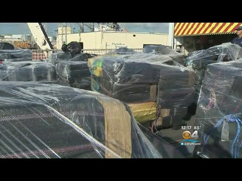 Coast Guard Offloads More Than 12 Tons Of Cocaine In Port Everglades