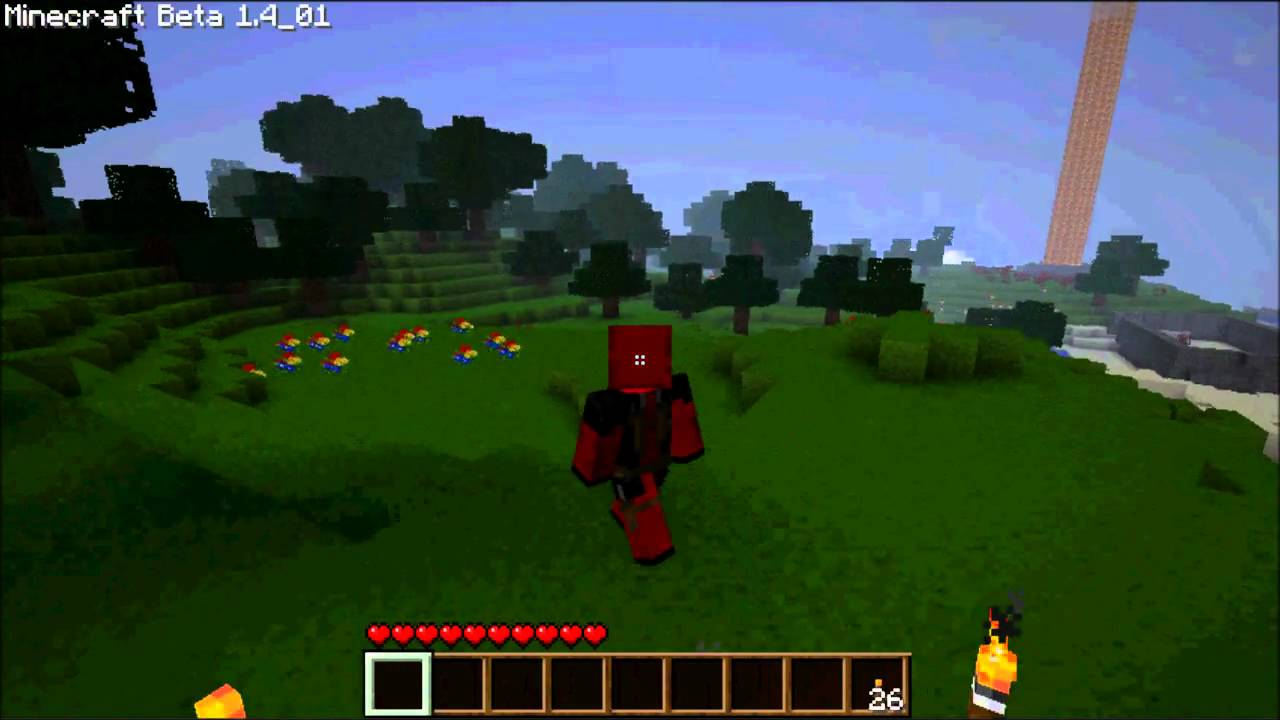 Minecraft Deadpool Skin Free Download YouTube - Baixar skins para minecraft de pc