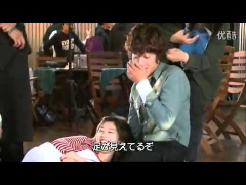Naughty Kiss - Oh Ha Ni Faint's Scene BTS