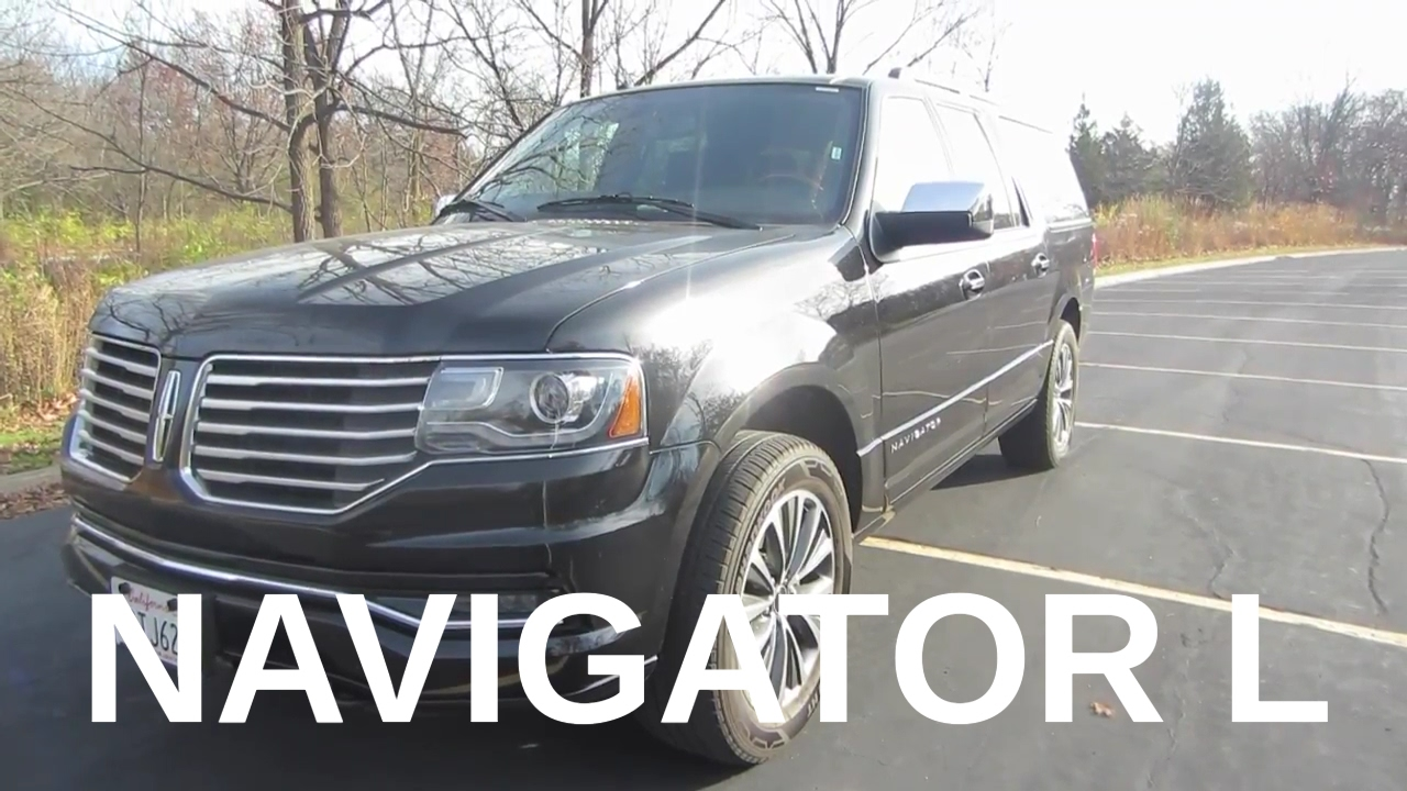 2016 Lincoln Navigator L Review and Test Drive