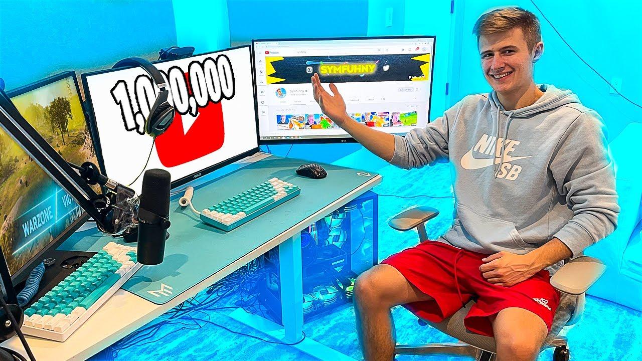 Revealing my $20,000 Gaming Setup!!