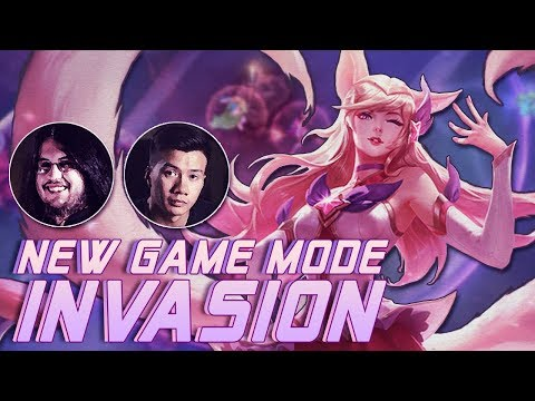 Shiphtur | New INVASION Game Mode ft. IMAQTPIE | Star Guardian Ahri
