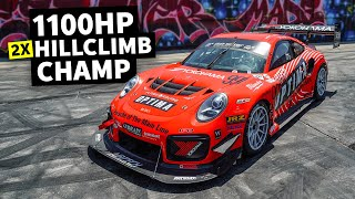 homepage tile video photo for Pikes Peak Victory Donuts and Recap with BBI's 1,100hp GT3 Turbocup on Yokohama Tires // HHH Ep.015