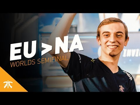 This is what happens when EU faces NA | Fnatic Highlights (FNC vs C9)