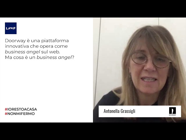 Cosa è un business angel? - Antonella Grassigli (Doorway)
